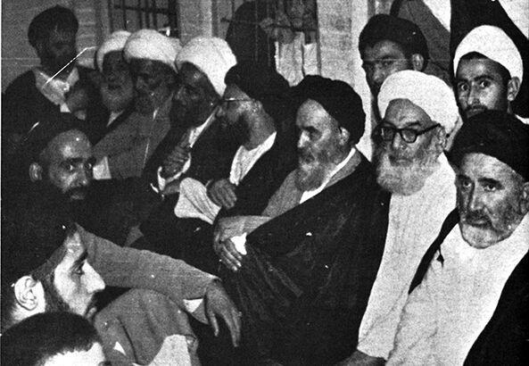 آیت الله شیخ محمّد رضا طبسی نجفی (ره) / امام خمینی