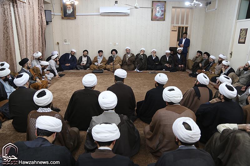 تجمع مدیران و اساتید حوزه علمیه خوزستان