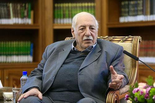 احمد جبریل _ دبیر کل جبهه خلق برای آزادی فلسطین