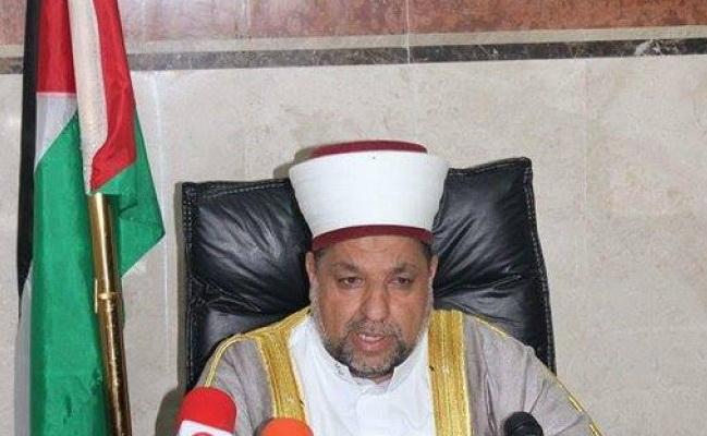 شیخ یوسف ادعیس وزیر اوقاف و امور دینی فلسطین