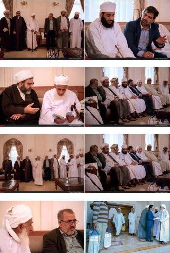 هیئتی حوزوی در عمان
