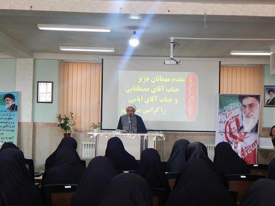 حجت الاسلام مصطفایی در نشست بصیرتی طلاب قزوین