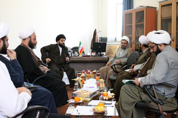 نشست شورای بسیج حوزه علمیه کرمانشاه