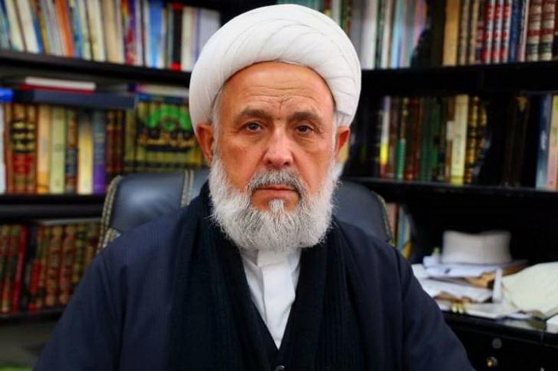 شیخ علی یاسین رئیس نشست علمای صور لبنان