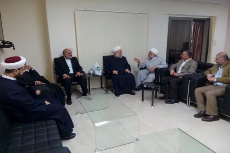 دیدار شیخ ماهر حمود و جنبش امل