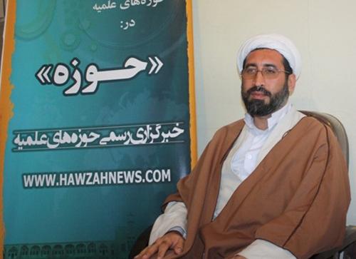 حجت الاسلام مختار سلیمانی- مدیر مدرسه باقرالعلوم(ع) سرپل ذهاب