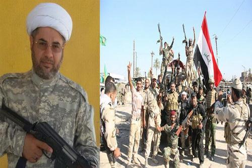 حجت الاسلام هاشم ابو خمسین روحانی مجاهد عراقی