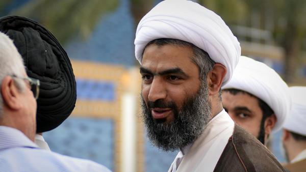 حجت الاسلام شیخ المنسي روحانی سرشناس بحرینی