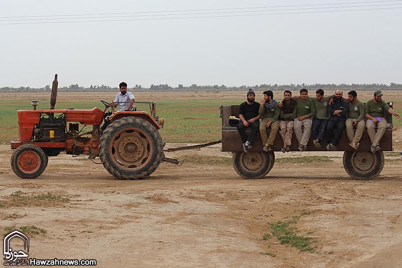 اردوی جهادی جمعی از طلاب در مناطق محروم خوزستان