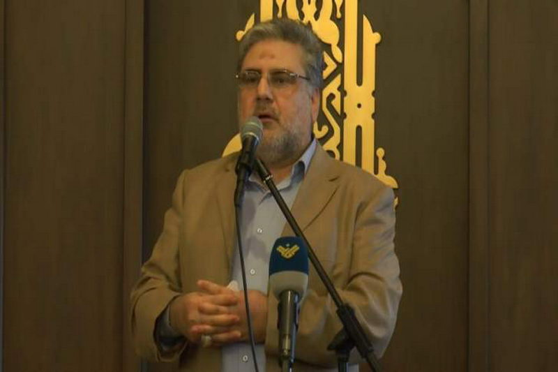 نواف الموسوی نماینده عضو فراکسیون مقاومت لبنان