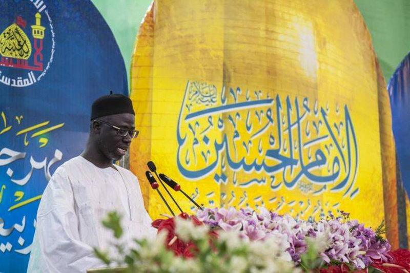 شیخ شعیب کیبی نماینده رهبر مریدی های آفریقا و سنگال