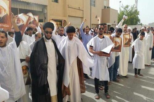 حمایت مردم بحرین از شیخ عیسی قاسم