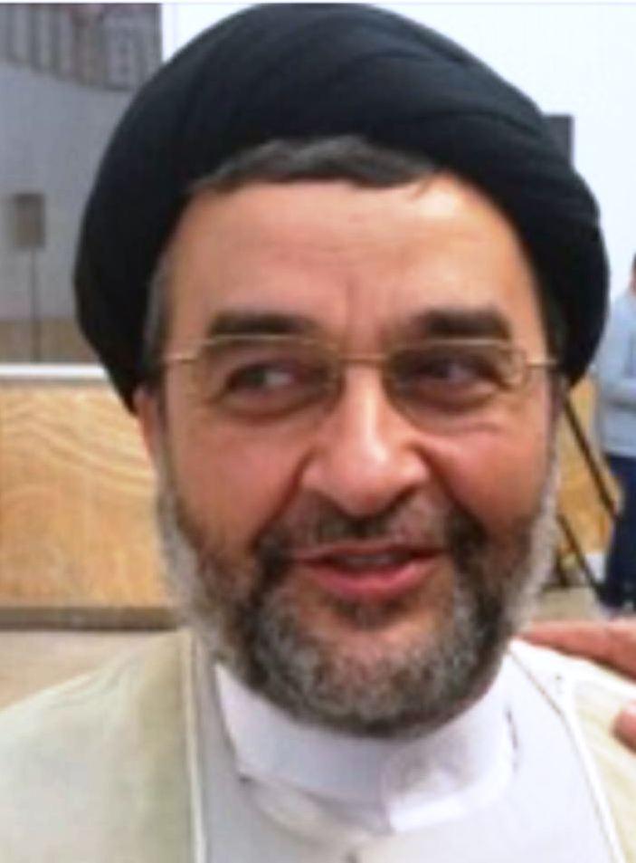 حجت الاسلام والمسلمین خادمی رئیس مرکز اسلامی دانمارک