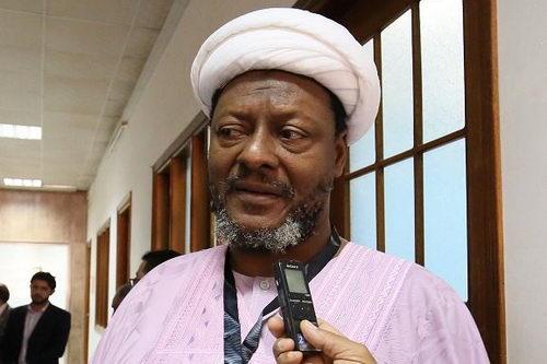 شیخ حمد کمال الدین ابوبکر رهبر شیعیان غنا