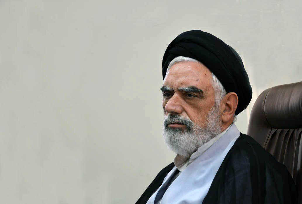 حجت الاسلام والمسلمین مصباح عاملی_ مدیر حوزه علمیه خراسان
