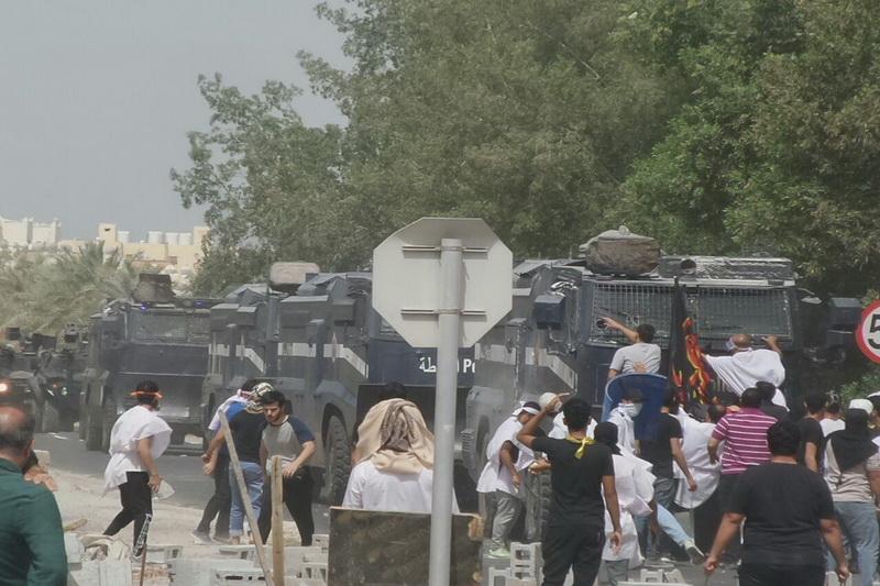 حمله نیروهای امنیتی بحرین به حامیان شیخ عیسی قاسم