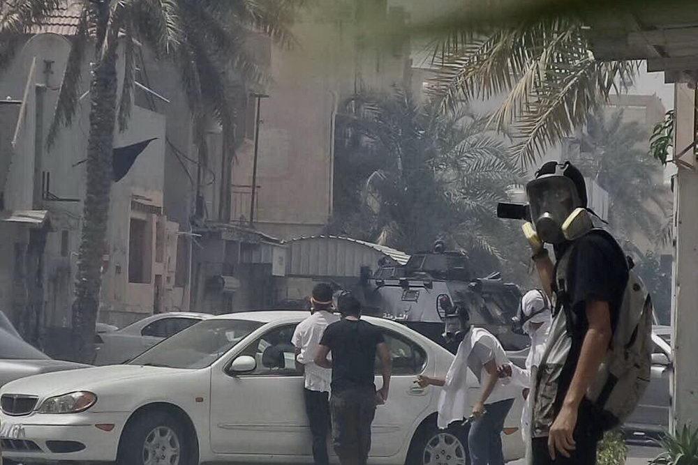 درگیری در الدراز بحرین