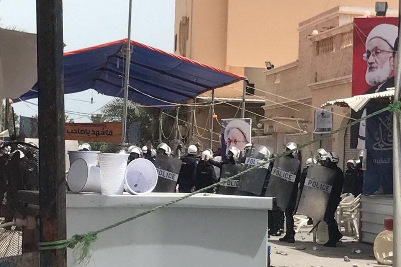 حمله نیروهای امنیتی آل خلیفه به الدراز