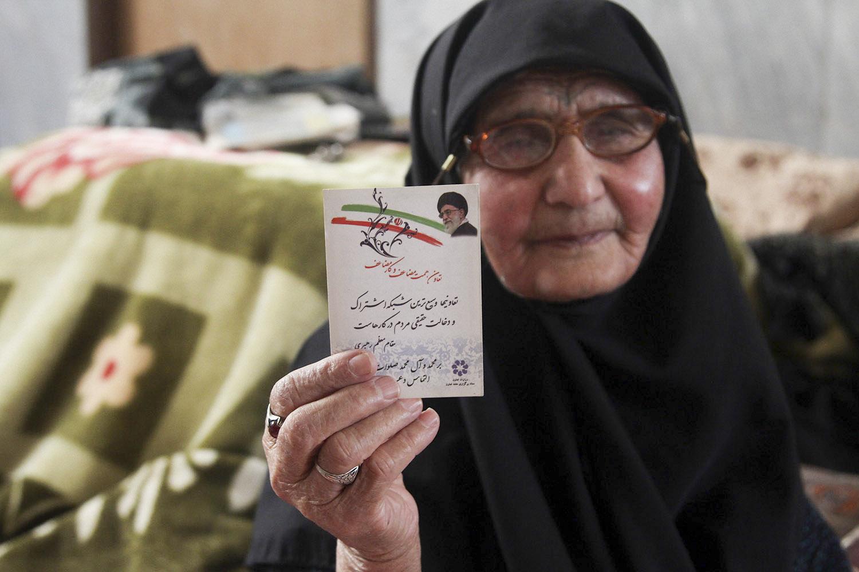 مادر شهید روحانی هادی اسداللهی
