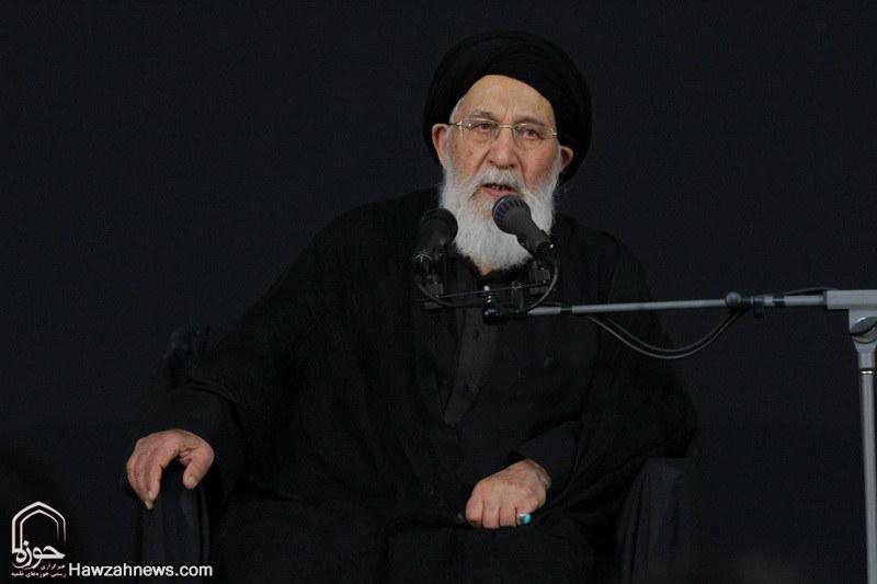 تصاویر/ اجتماع عزاداران علوی در مشهد /آیت الله سیدان