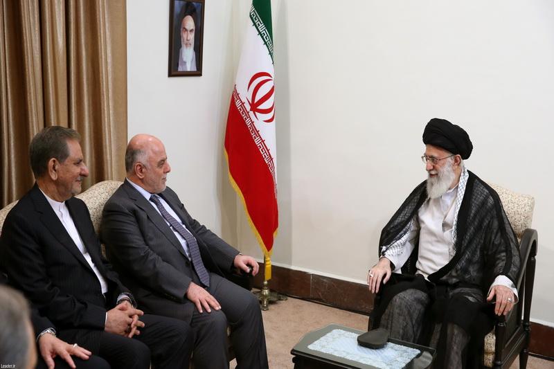 رهبر معظم انقلاب اسلامی در دیدار نخست وزیر عراق