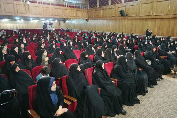 همایش خواهران در مراسم حجاب وعفاف