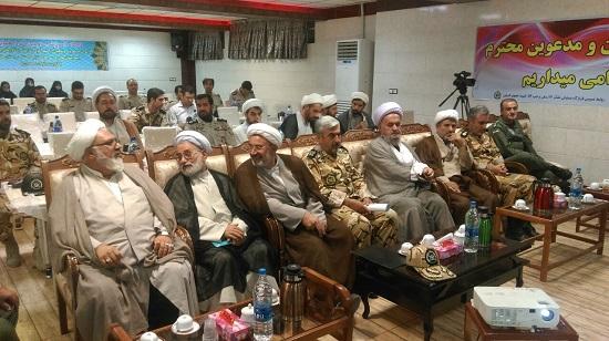 حجت الاسلام والمسلمین علی اسلامی، در جمع فرماندهان  ومسئولین عقیدتی سیاسی ارتش