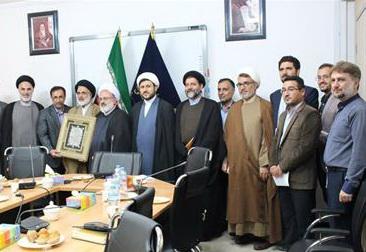 تودیع و معارفه رئیس نمایندگی المصطفی در تهران