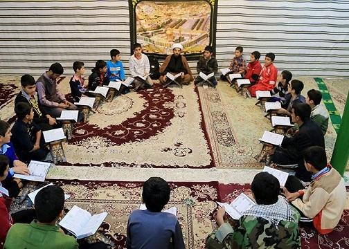 محفل قرآن در مسجد