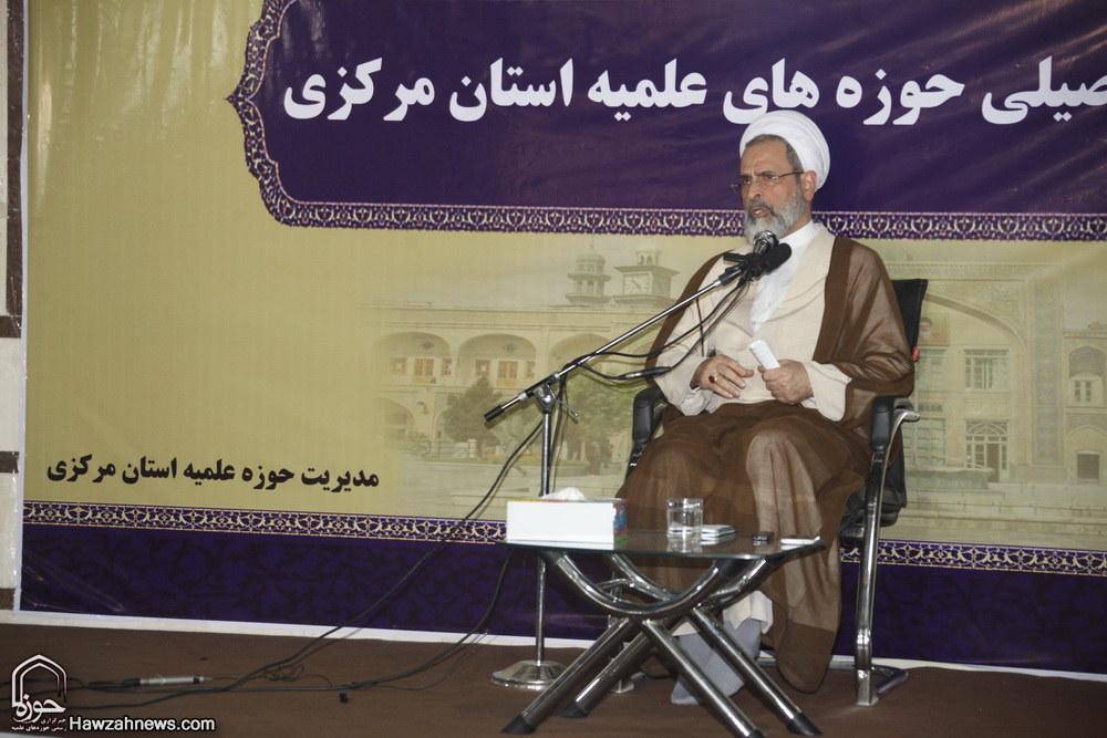 تصاویر/ سفر مدیر حوزه های علمیه به استان مرکزی _ آیت الله اعرافی