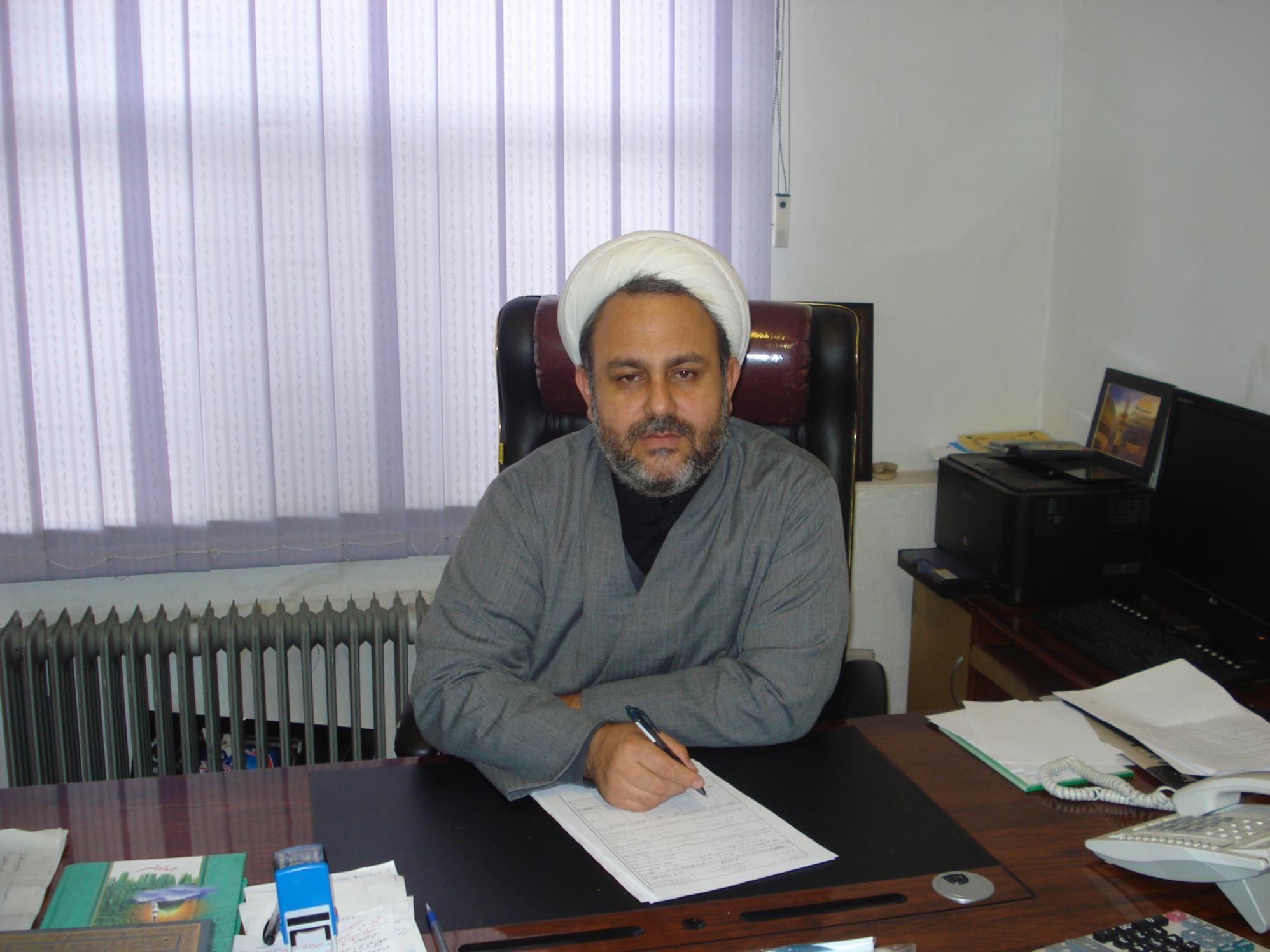 حجت الاسلام محمد خانبابایی - امور مساجد آذربایجان غربی