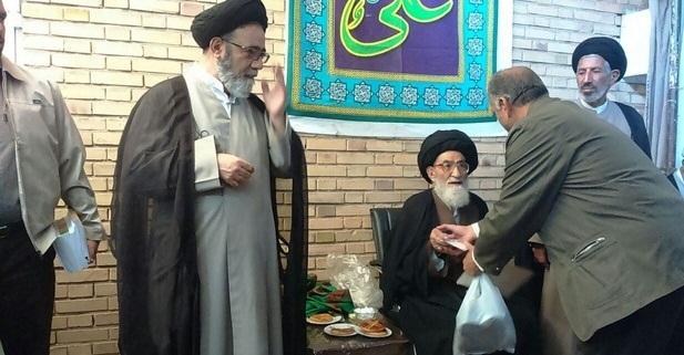 تکریم و تجلیل از سادات در عید غدیر