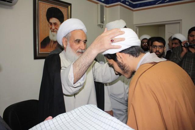 جشن عمامه گذاری در کرمانشاه