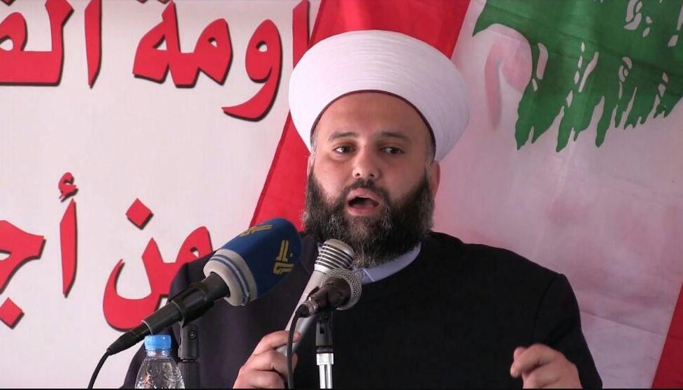 شیخ عبد الله جبری دبیر کل جنبش امت لبنان
