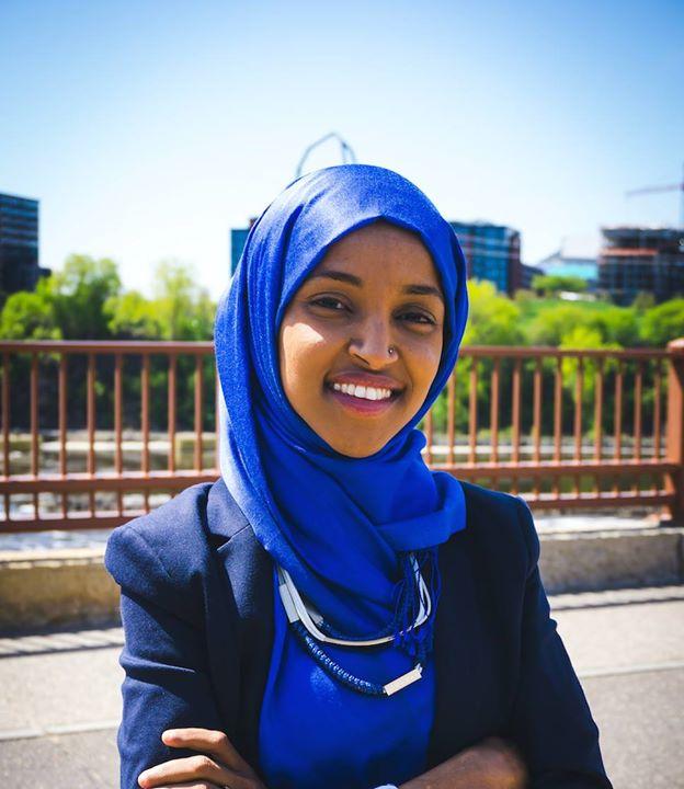 نخستین زن مسلمان پارلمان آمریکا