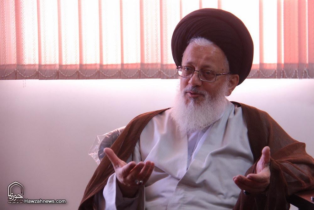 آیت الله سید مجتبی حسینی  _ نماینده رهبر معظم انقلاب در عراق