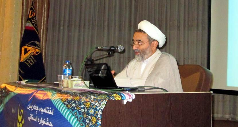 حجت الاسلام محمد علی رضایی اصفهانی استاد جامعة المصطفی العالمیه