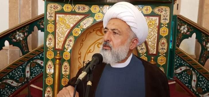شیخ علی خطیب نایب رئیس مجلس اعلای اسلامی شیعیان لبنان