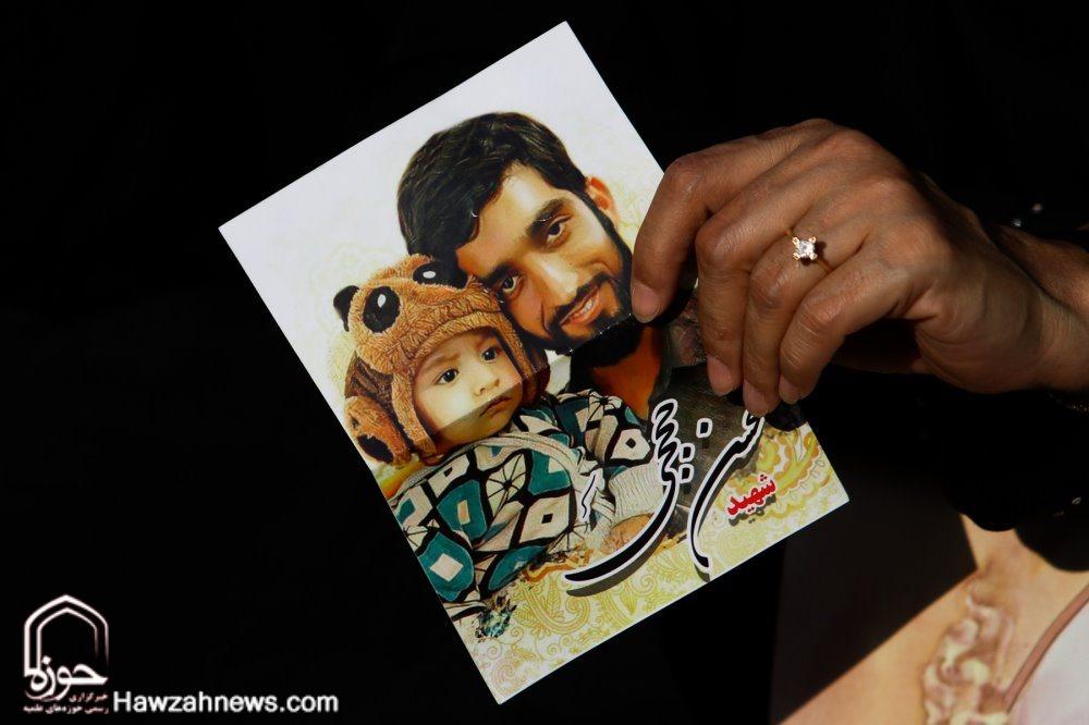 تصاویر/ تشییع پیکر شهید حججی در اصفهان
