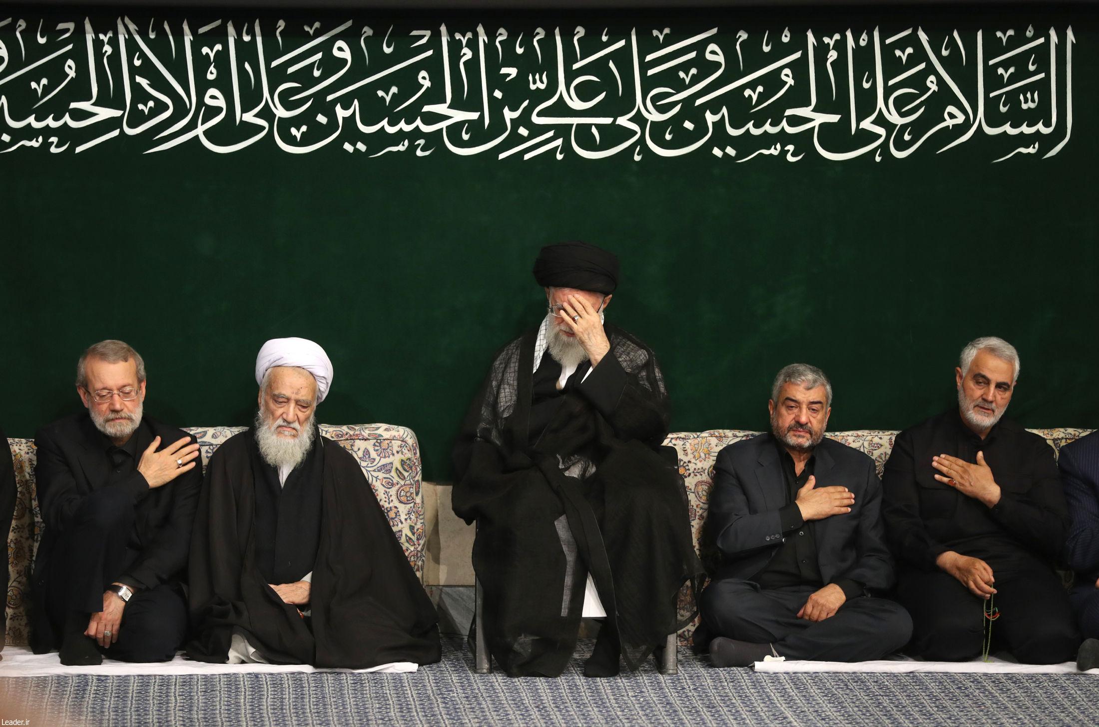 مراسم عزاداری شب عاشورای حسینی علیهالسلام