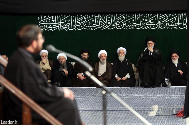 آخرین شب مراسم عزاداری حضرت اباعبدالله علیهالسلام در حسینیه امام خمینی