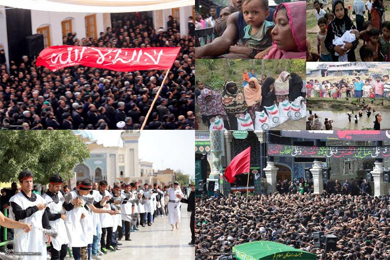 از عزاداری عاشورائیان در نقاط مختلف جهان تا پژوهش تحلیلی درباره مسلمانان میانمار صفحه: صفحه سرویس چندرسانه ای