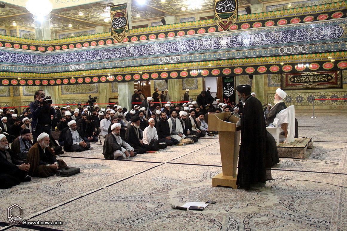 تصاویر/ گردهمایی مدیران مراکز تخصصی تحت اشراف آیت الله العظمی مکارم