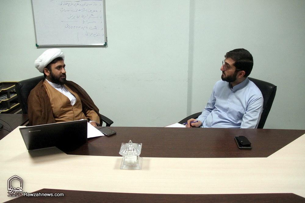 حجت الاسلام والمسلمین حیدر همتی  مدیر مؤسسه آموزش عالی امام رضا(ع) تهران