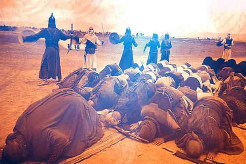 نماز ظهر عاشورای امام حسین علیه السلام