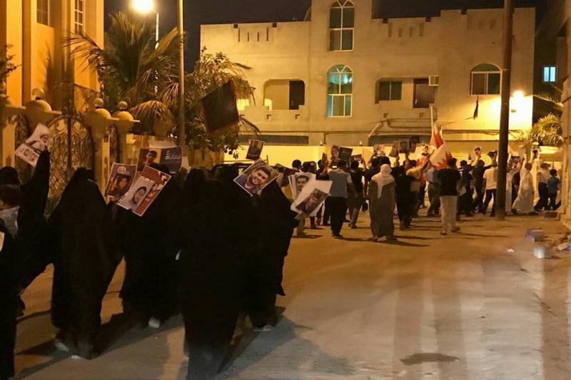تظاهرات مردم بحرین