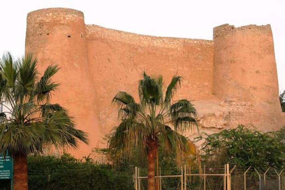 قلعه تایخی الدیرة در تاروت عربستان