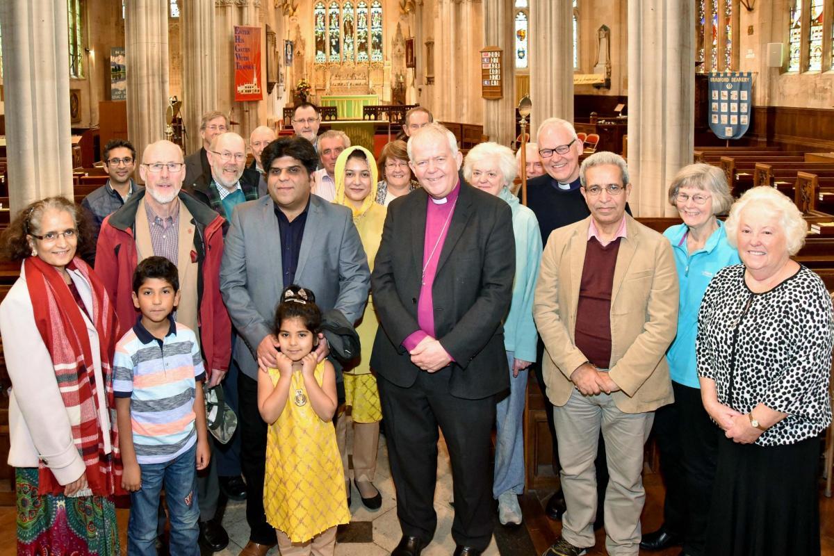 اقدام میان ادیانی اسقف انگلیسی برای ارتباط با مسلمانان