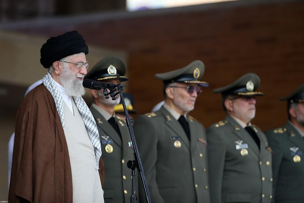تصاویر/ مراسم دانش آموختگی دانشجویان دانشگاههای افسری ارتش