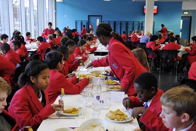 مسلمانان لنکشایر غذای مدارس را بایکوت کردند